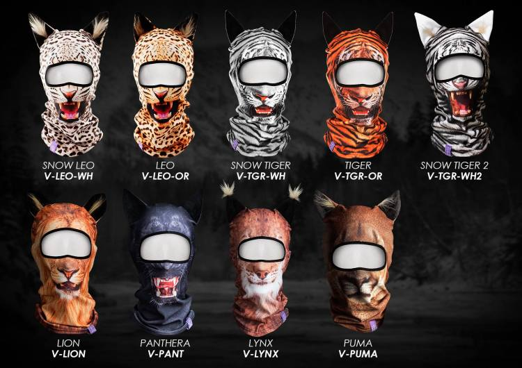 An Adorable Collection of Animal-Themed Ski Masks With 3D Ears f8f70a2515cc