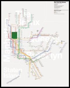 NYC Subway Map Reimagined