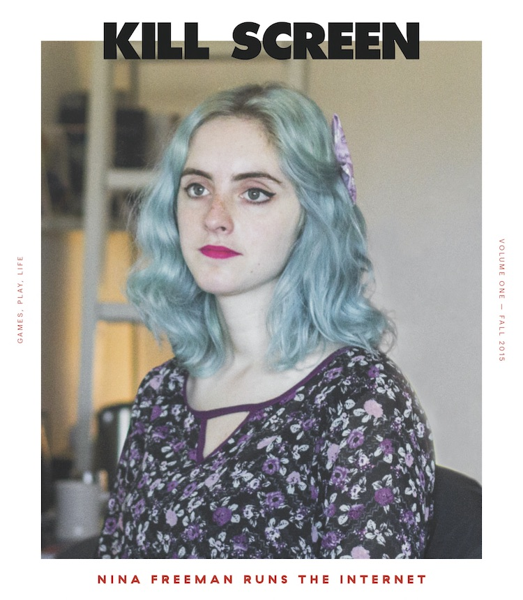 Nina Freeman Kill Screen Cover