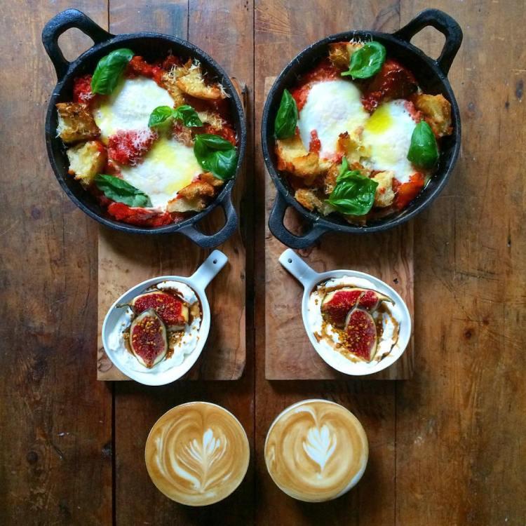 Panzanella Eggs