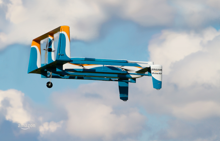 Prime Air Drone in Flight