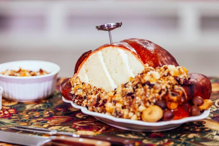 Roasted Turkey Cake