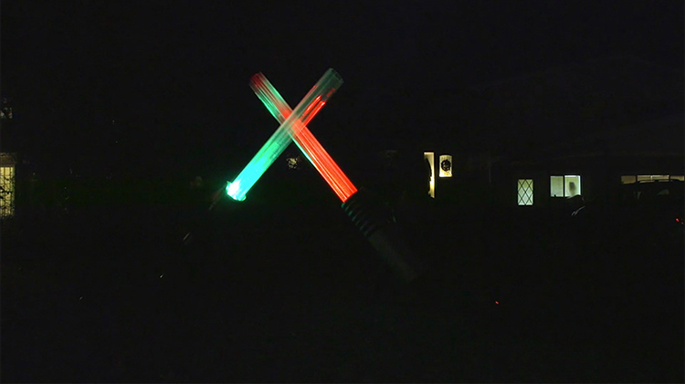 Giant Lightsabers