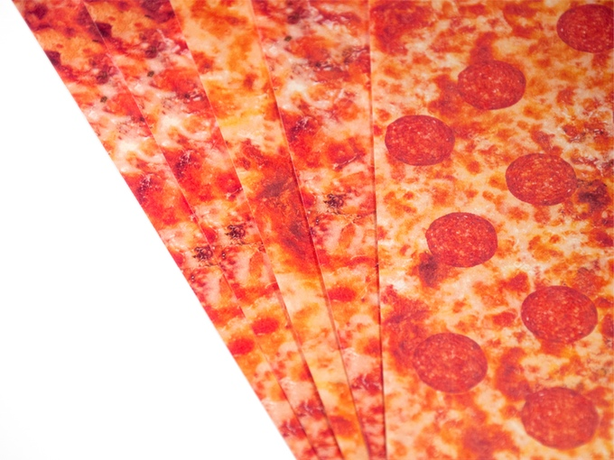 Slices of Pizza Paper
