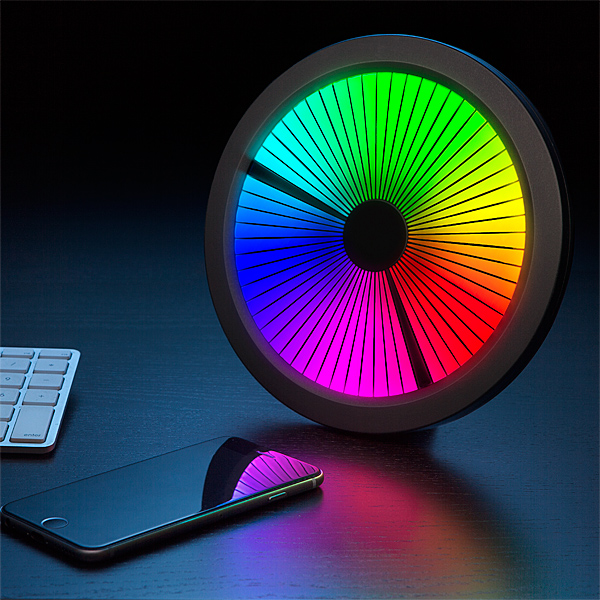 Spectrum LED Clock and Phone