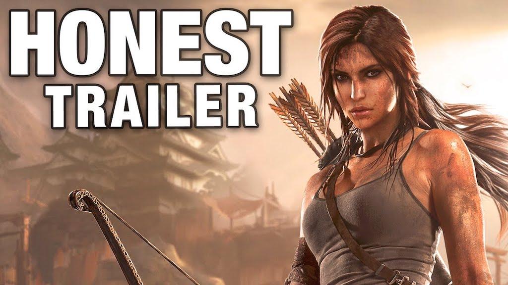 Tomb Raider Honest Trailer