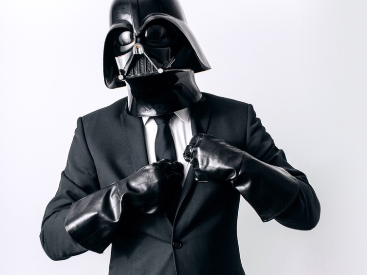 Vader in a Suit