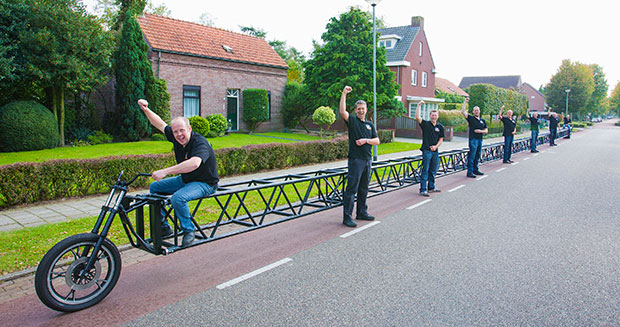 World's Longest Bicycle Team