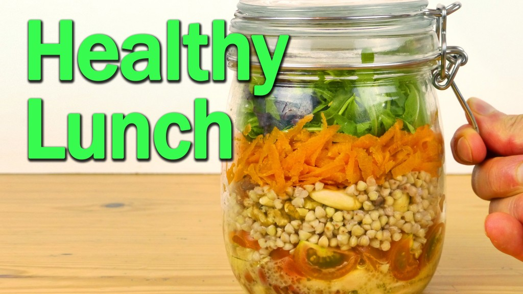 How To Make a Healthy Layered Salad in a Jar