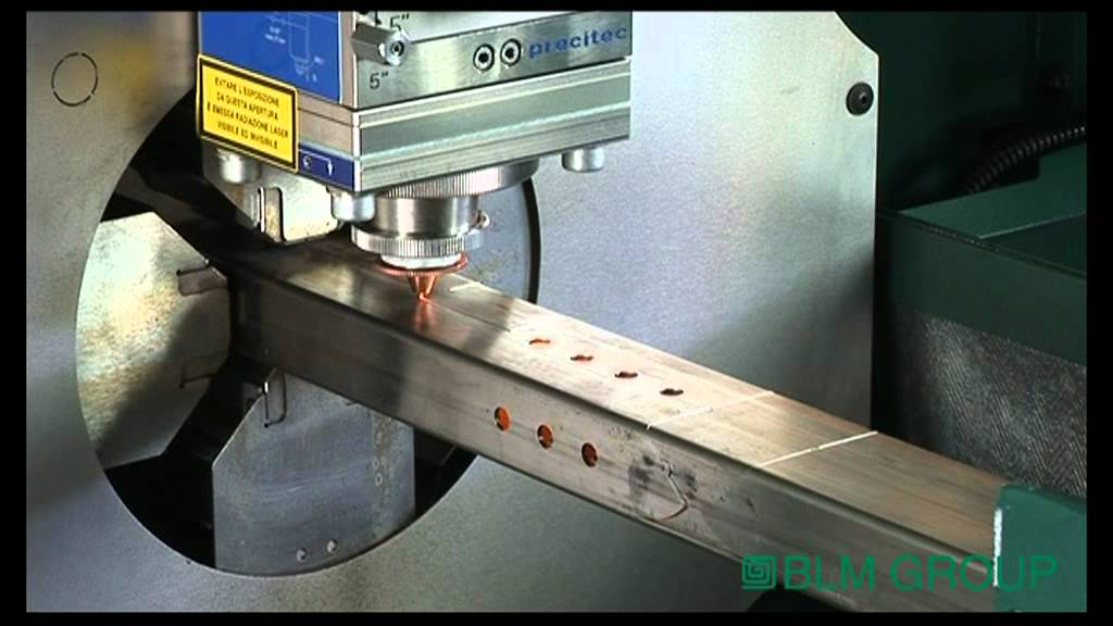 Laser Tube Cutting Machines Making Precision Cuts In A