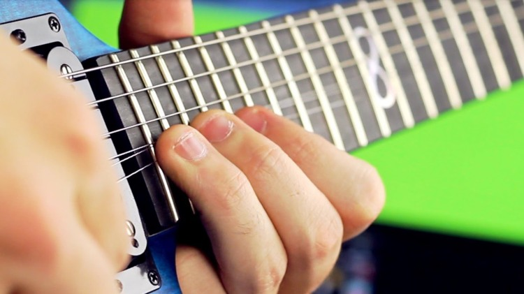 Musician Rob Scallon Creates a Heavy Metal Song Using Every Fret on His Guitar