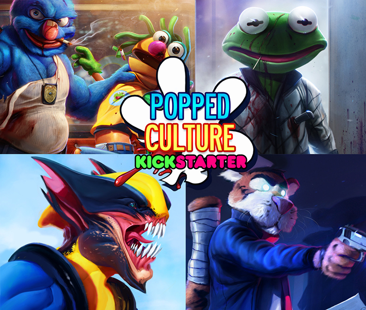 popped culture an art book filled with twisted