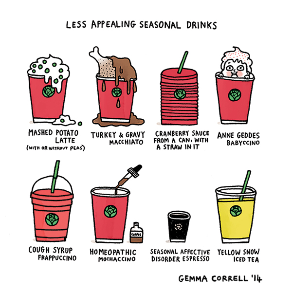 The Less Appealing Seasonal Drinks at Starbucks