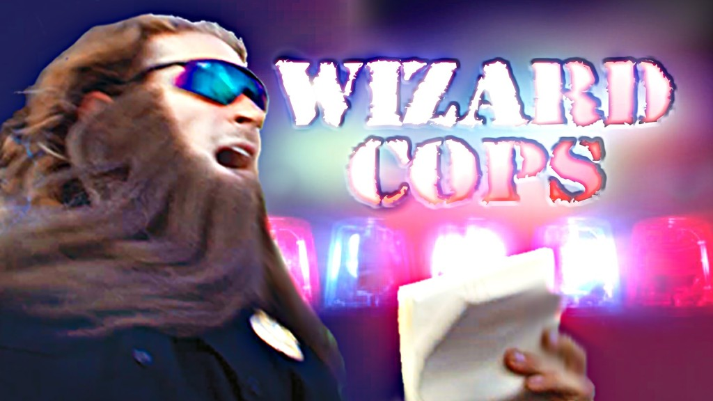 Two 'Wizard Cops' Patrol the Streets and Bust Suspicious Wiccans in an Amusing Live-Action Special Effects Video