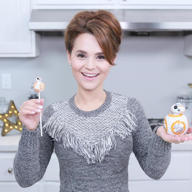 BB8 Cake Pops
