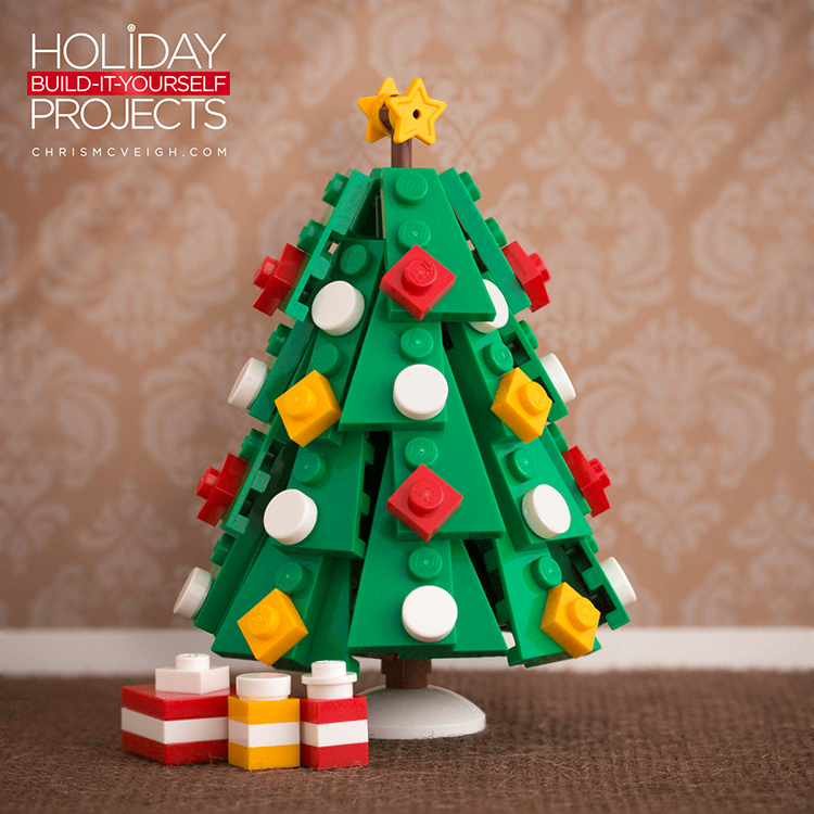 Custom Built Lego Christmas Tree Ornaments By Chris Mcveigh
