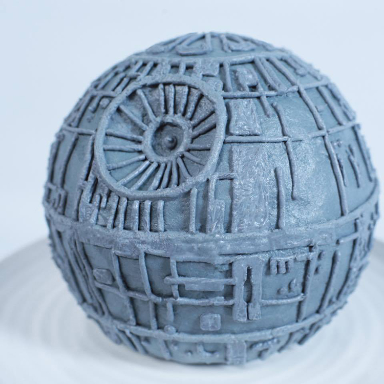Star Wars Death Star Cake