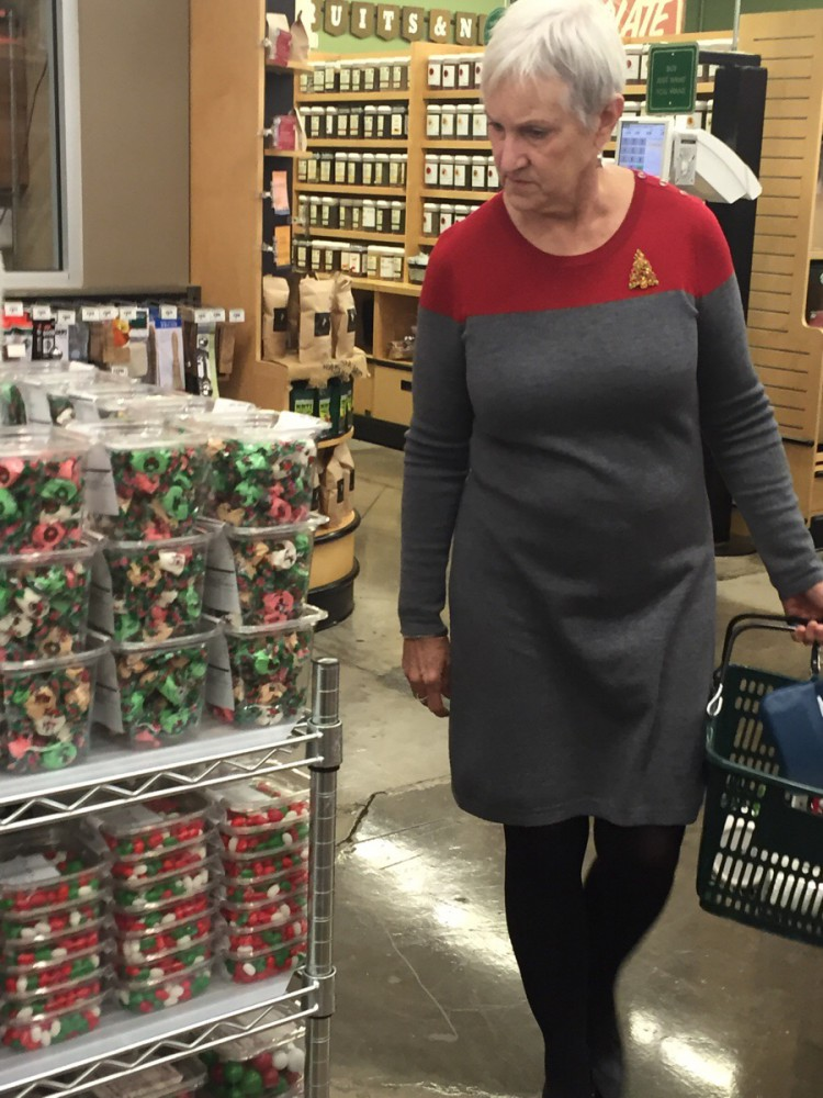 Accidental Star Trek Sweater