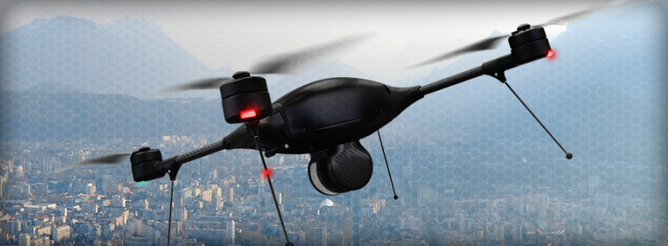 Aerodrome Drone in Flight