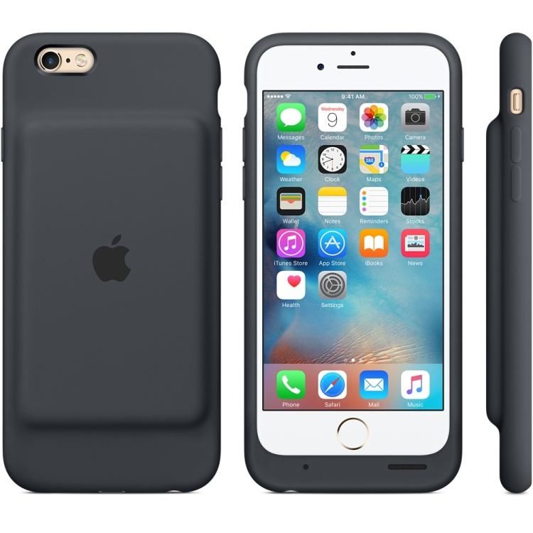 Apple iPhone 6s Battery Case Front Back and Side