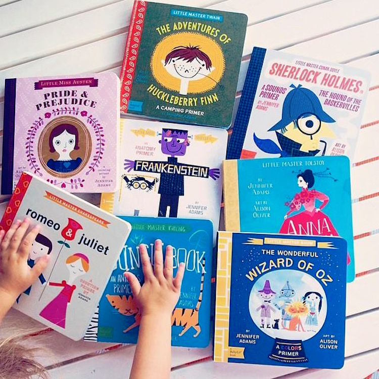 Classic Literature Turned Into Wonderfully Adorable Learning Primers for Children