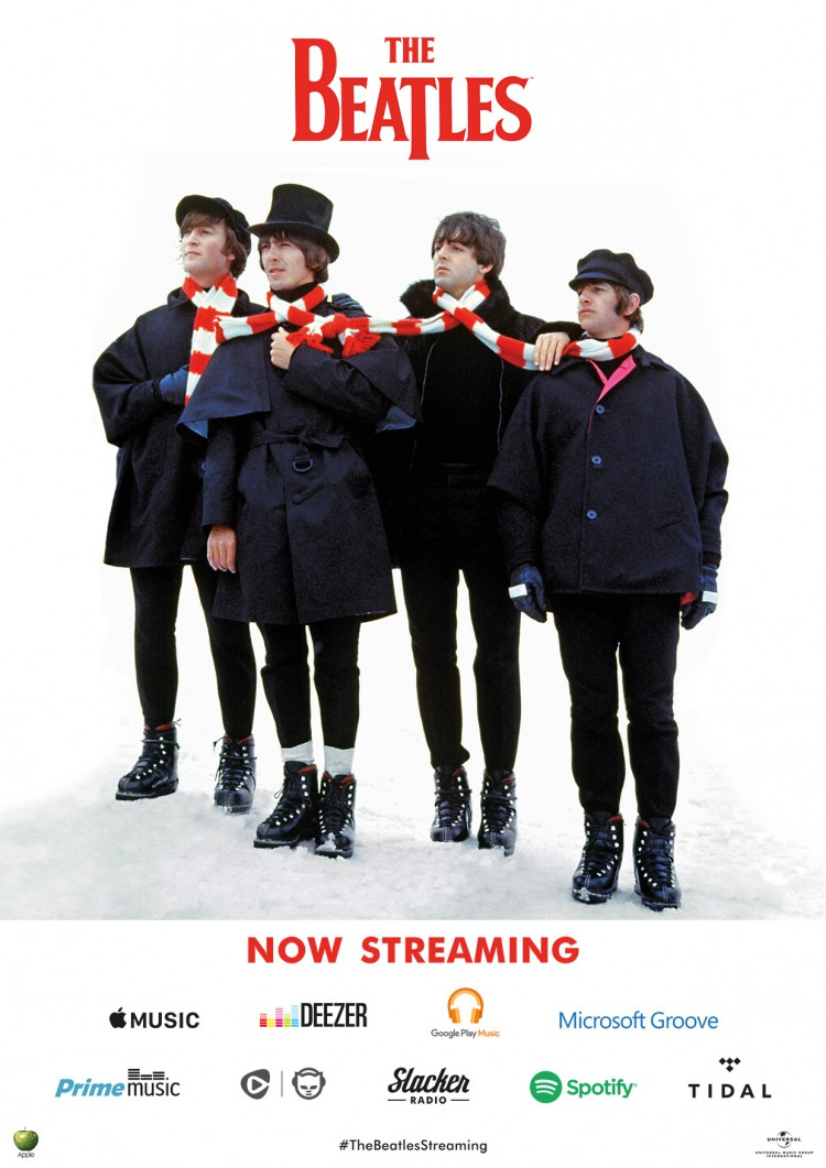 Beatles Streaming Poster