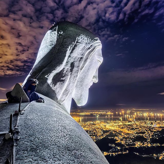Christ the Redeemer head