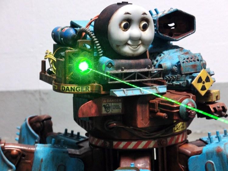 Nightmare Thomas Laser Canon