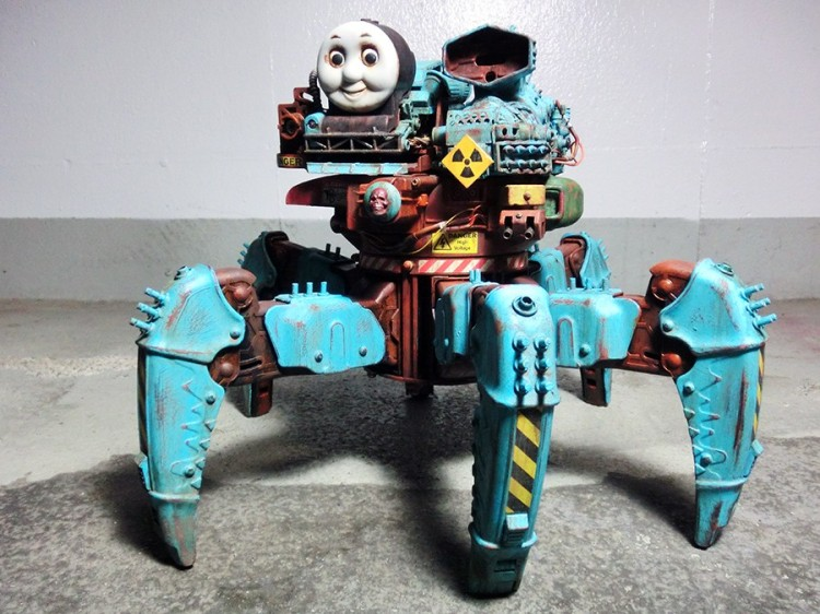 Nightmare Thomas Robot