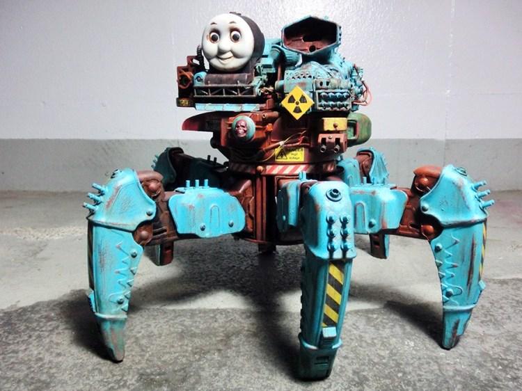 Nightmare Thomas Robot