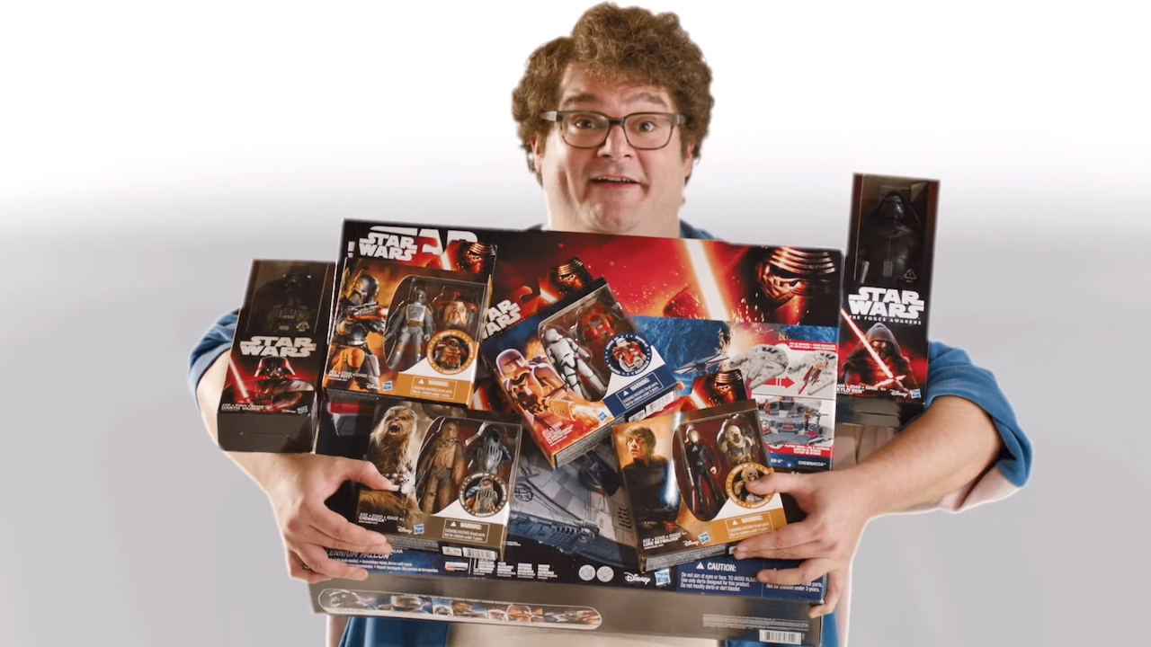Saturday Night Live Star Wars Toy Commercial Accurately Portrays How They're Not Just For Kids