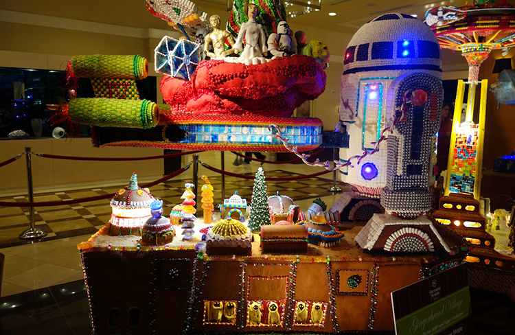 Star Wars Gingerbread Village