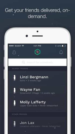 Teleport App Screenshot 1
