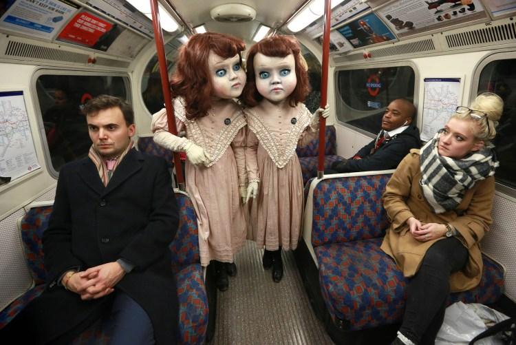 Thorpe Park Dolls Bus