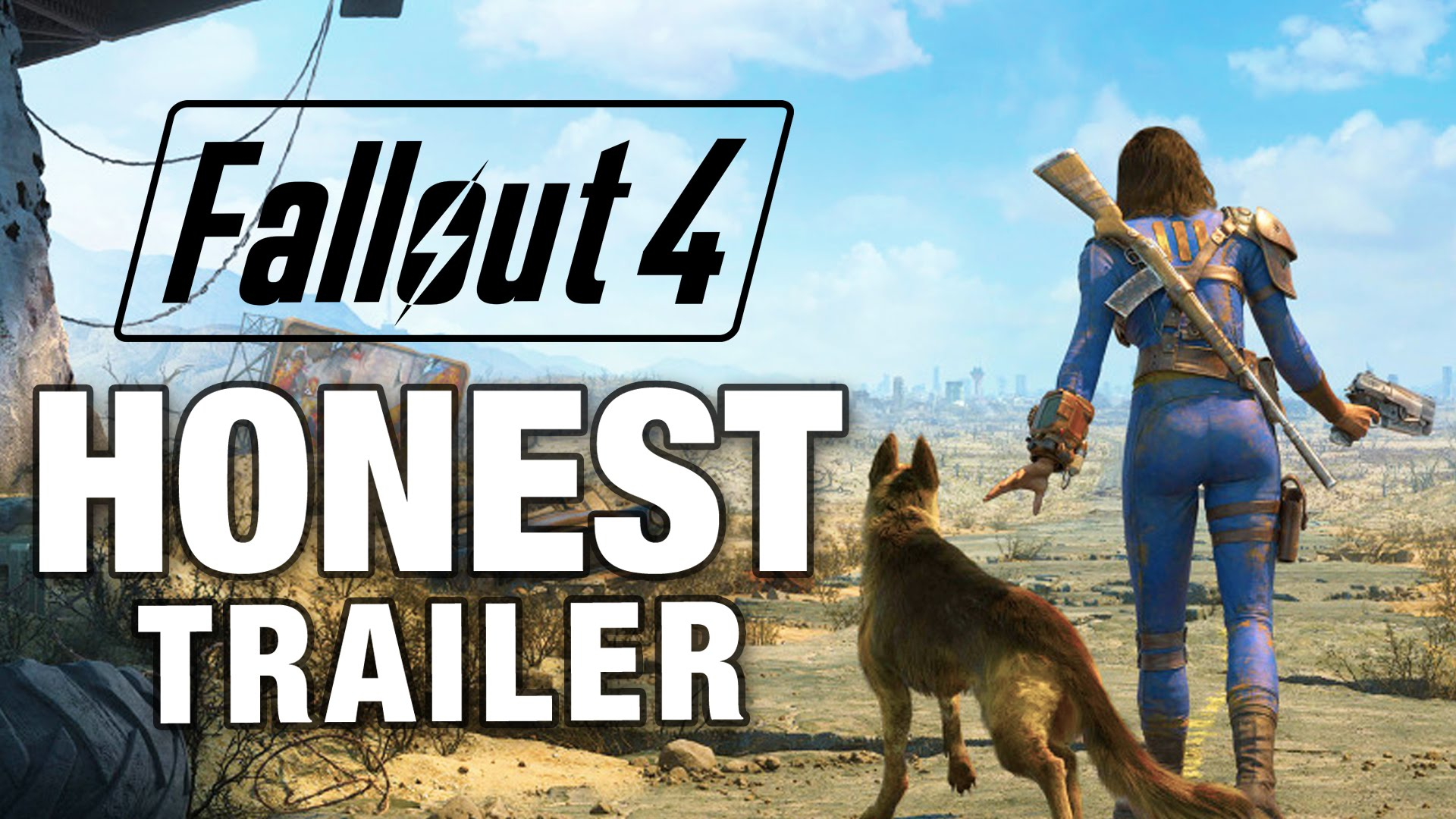 A Honest Video Game Trailer for Fallout 4