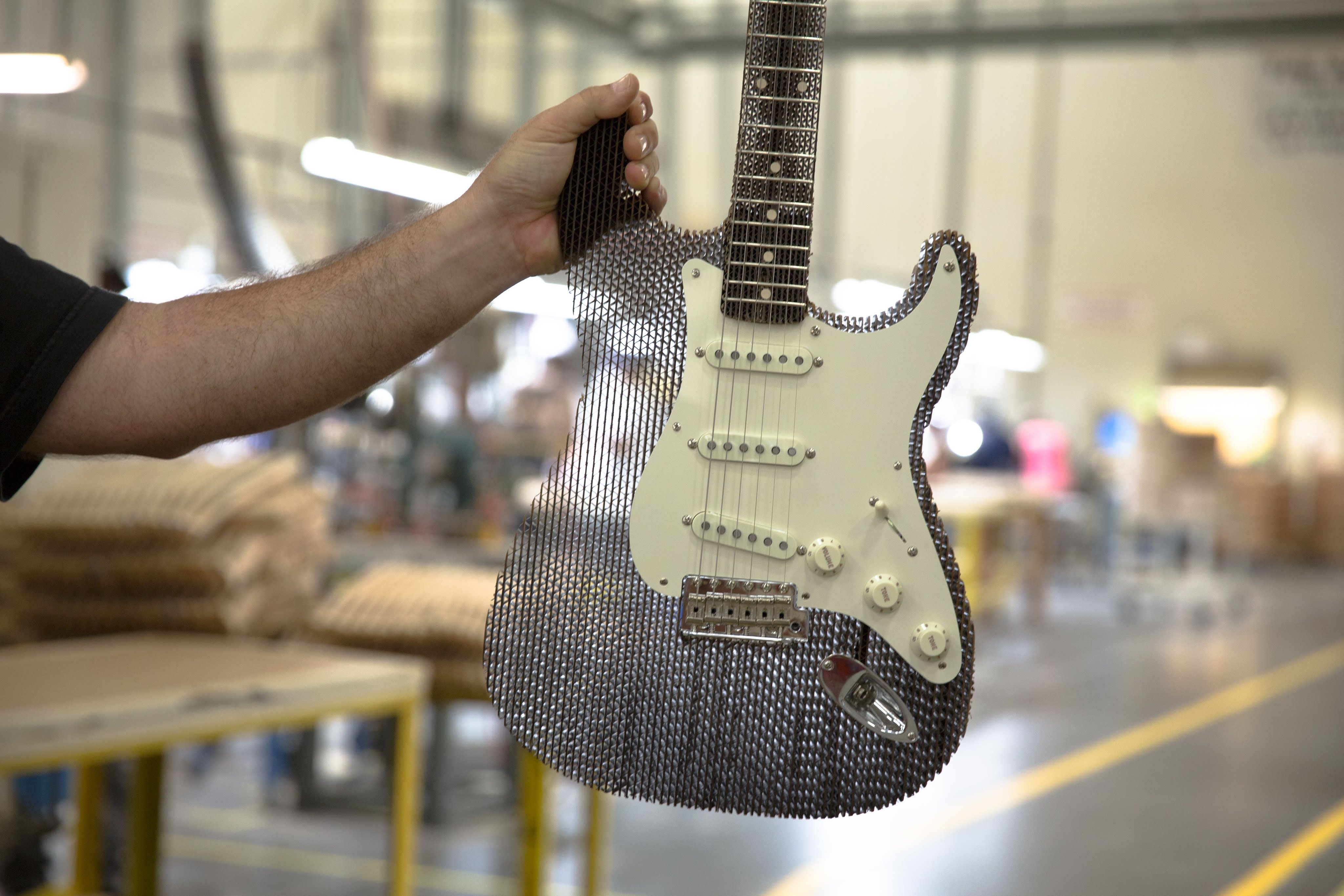 An Incredible Working Handmade Custom Fender Stratocaster