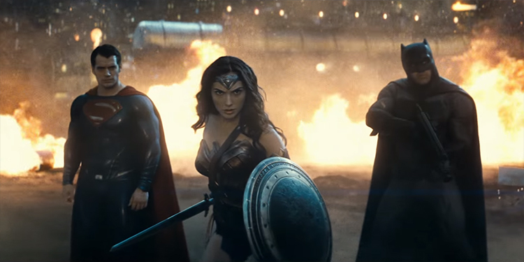 Wonder Woman, Batman, and Superman Face Off Against Doomsday in New 'Batman v Superman: Dawn of Justice' Trailer