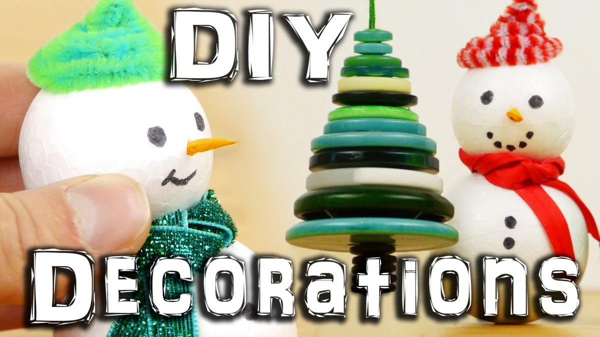 christmas tree ornaments you can make at home ForChristmas Tree Decorations You Can Make At Home