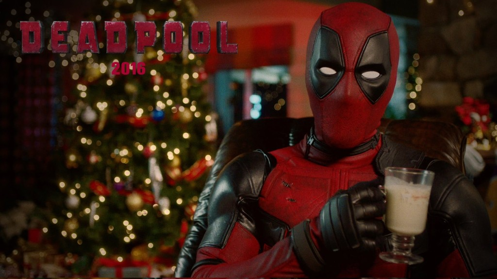 Deadpool Sips on Eggnog and Announces a '12 Days of Deadpool' Event Ending With a New Trailer on Christmas Day