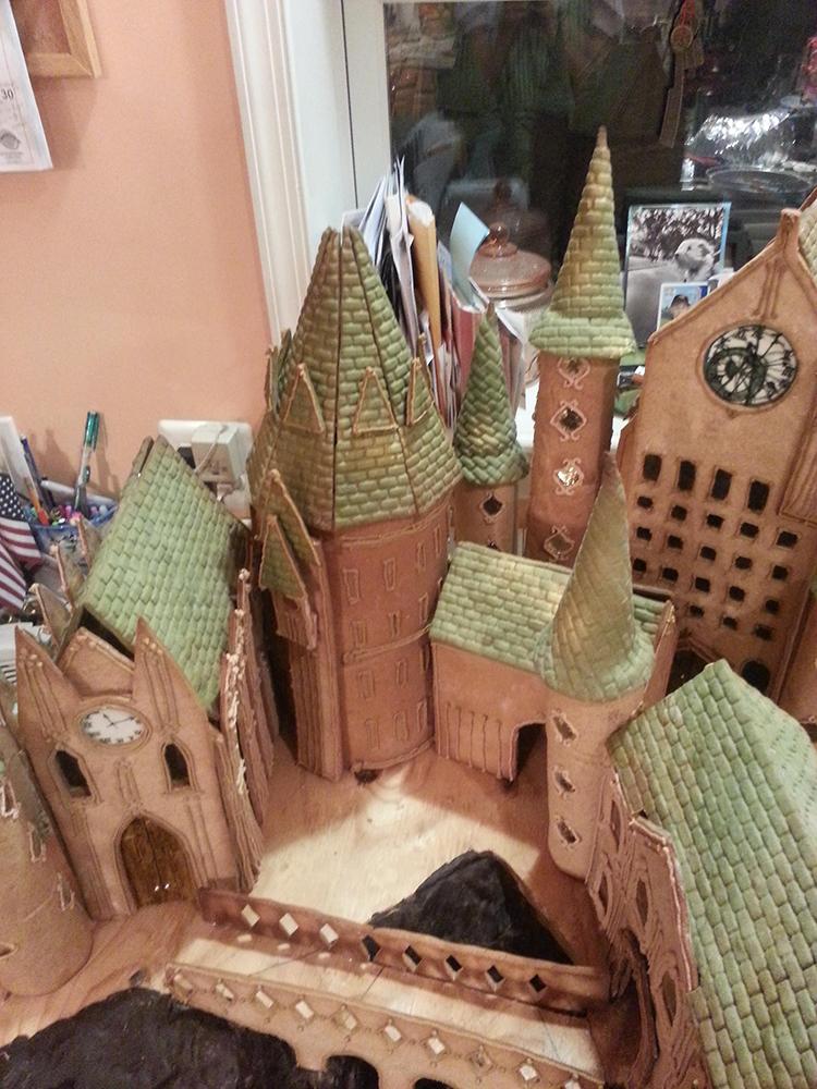 Gingerbread Hogwarts