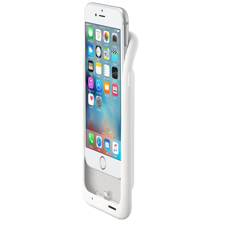 iPhone 6s Battery Case Half On
