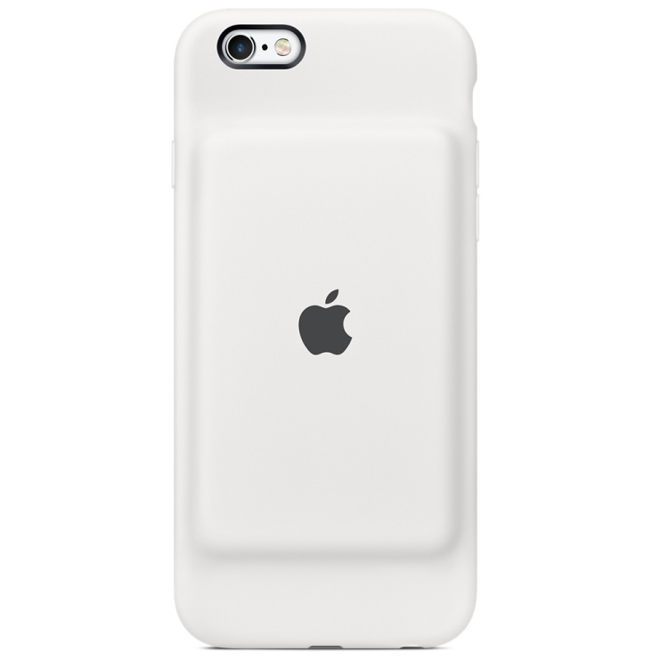 iPhone 6s Battery Case White Back