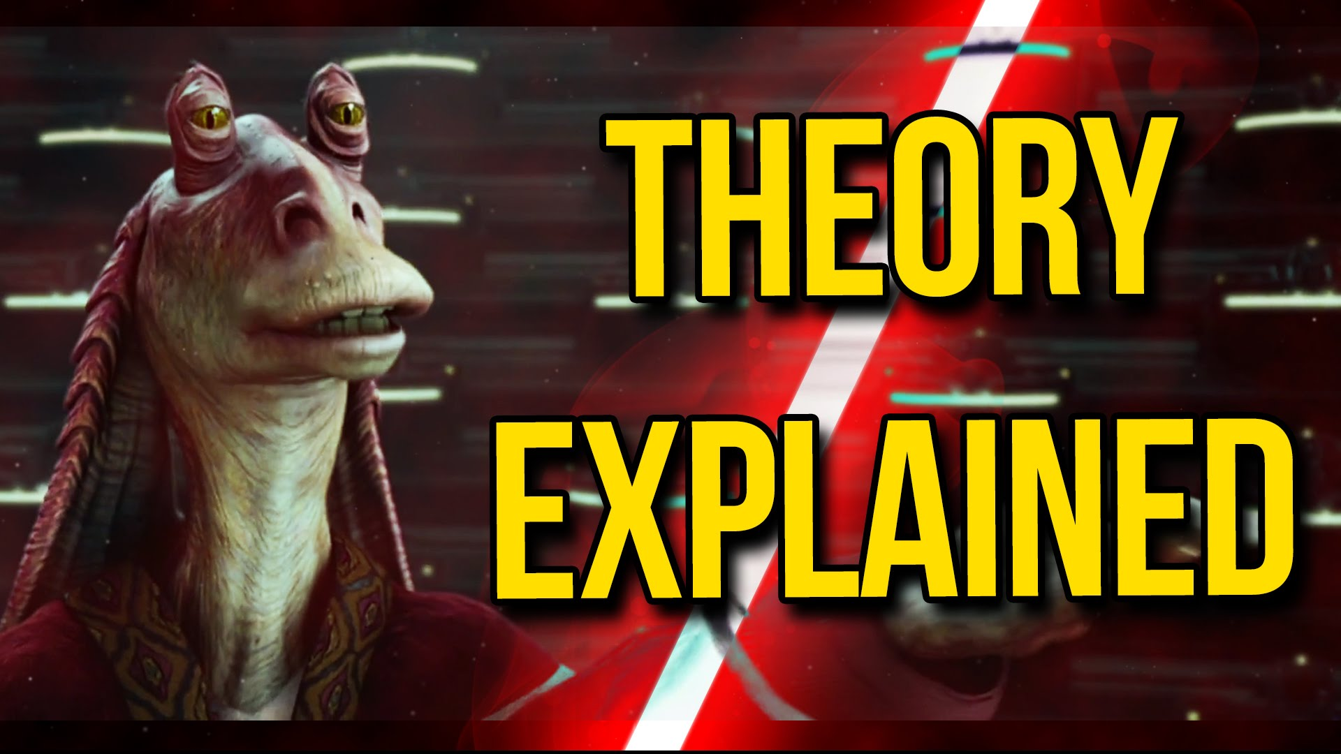 Image result for jar jar binks sith lord theory