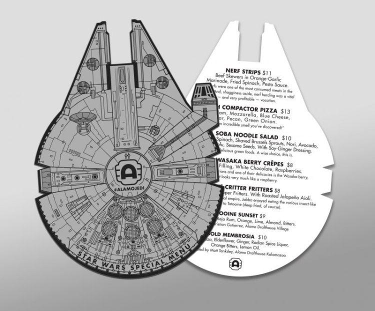 Star Wars Menu