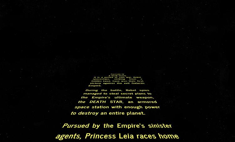 Star Wars Intro Creator