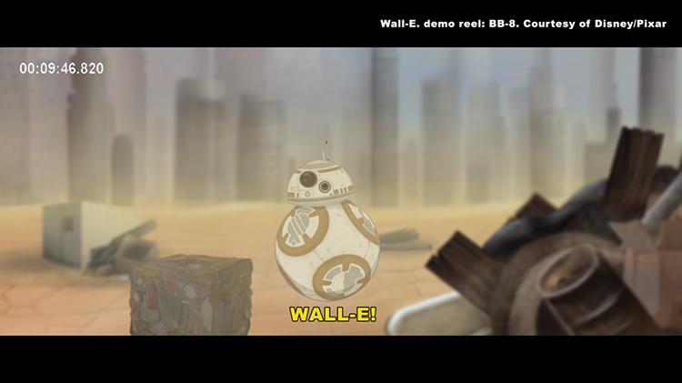 Behind BB8