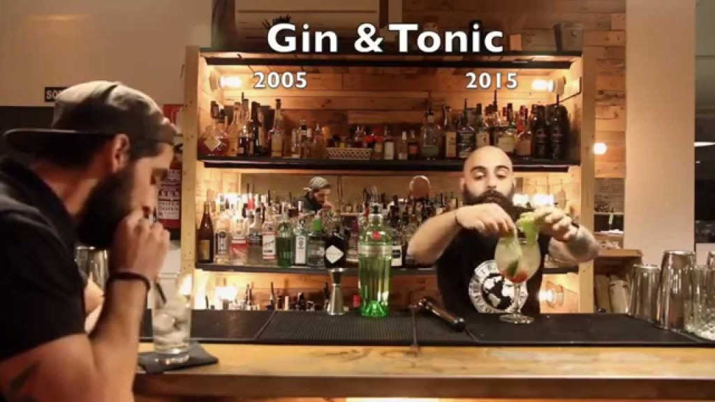 Two Bartenders Poke Fun at Fussy Cocktails With a Comparison of Gin & Tonics From 2005 and 2015