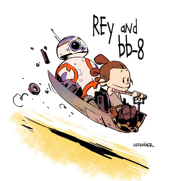 star wars calvin