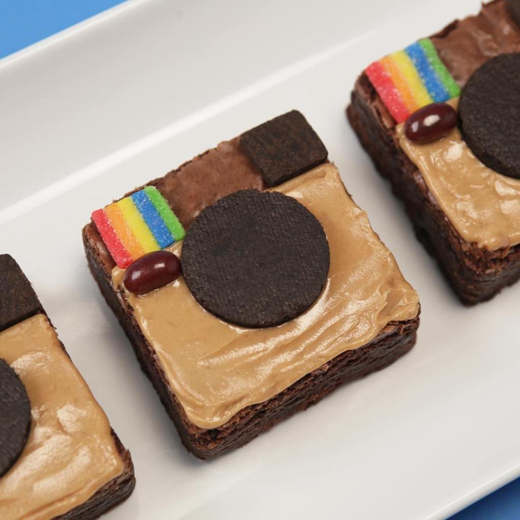 Chocolate Peanut Butter Instagram Brownies