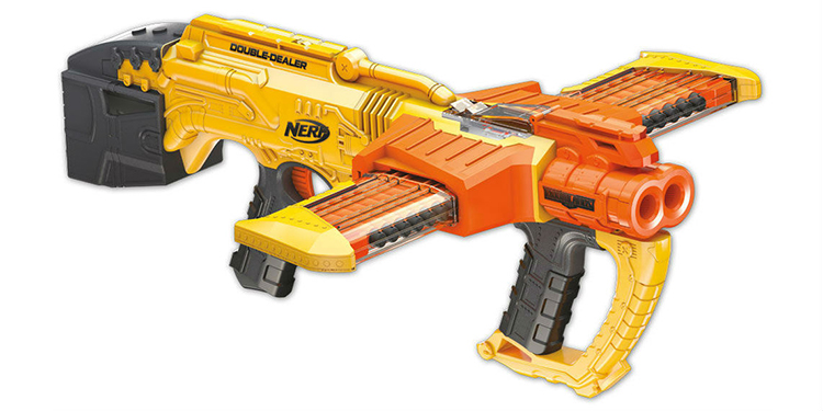 Nerf Releasing New Doomlands Double-Dealer and Foam Zombie Strike Brainsaw  Blasters
